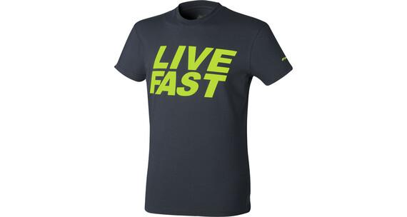 Dynafit First Track - T-shirt course à pied Homme - noir